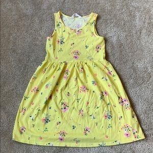 H&M Kids Yellow Floral Dress